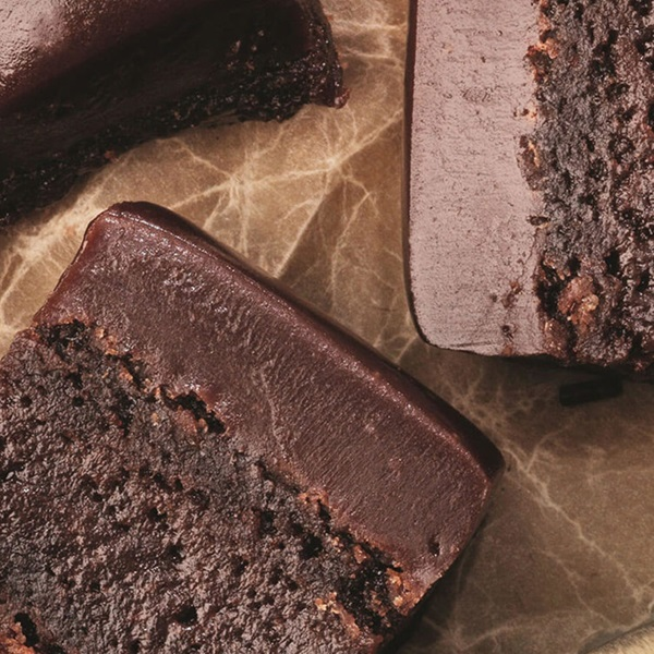 recipe image Brownies med glasur